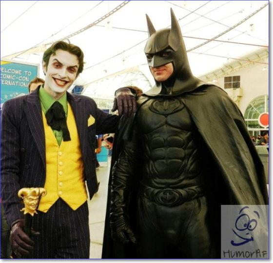 Косплей Batman