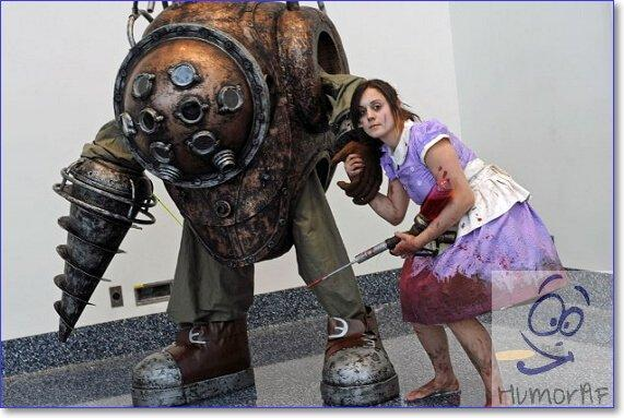 Косплей Bioshock