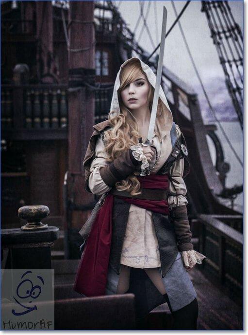 Косплей Assassins Creed