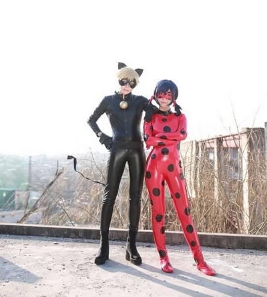 Косплей Леди Баг и Супер Кот