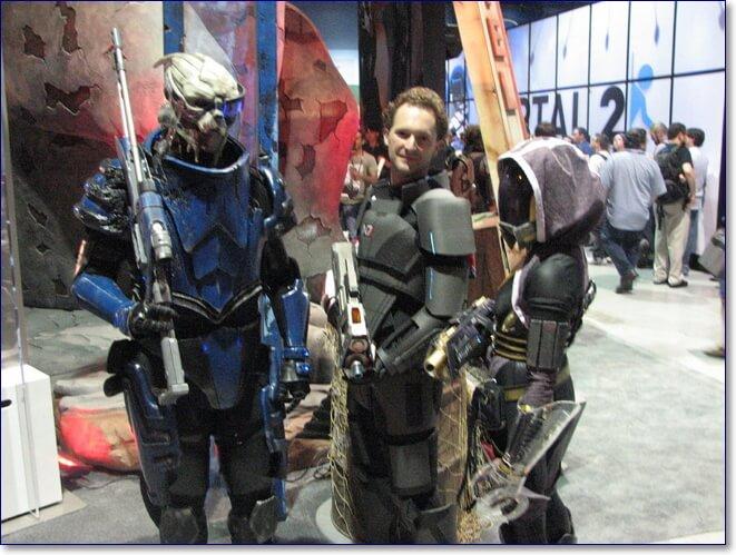 Косплей Mass Effect