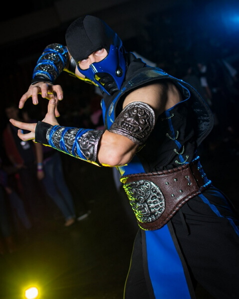 Косплей Mortal Kombat