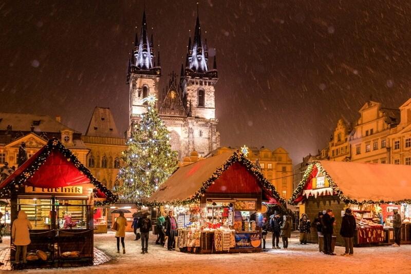 Рождественская ярмарка, где-то в Европе