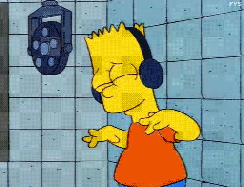 Гифки Симпсоны