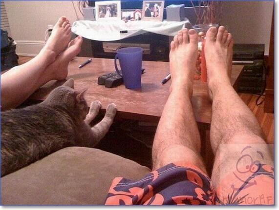 Фото ног приколы