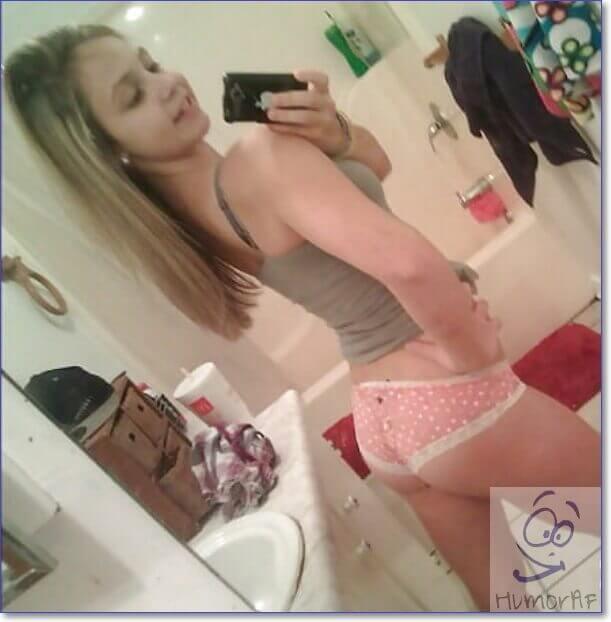 Фото девушек без нижнем 18 лет дома