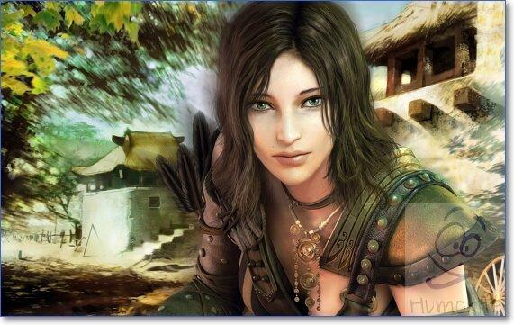 Картинки девушек из игр