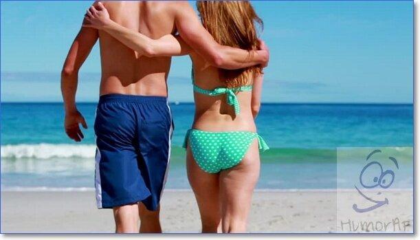 Фото парня и девушки спиной