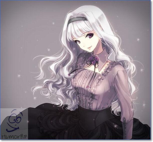 Картинки аниме девушек с длинными