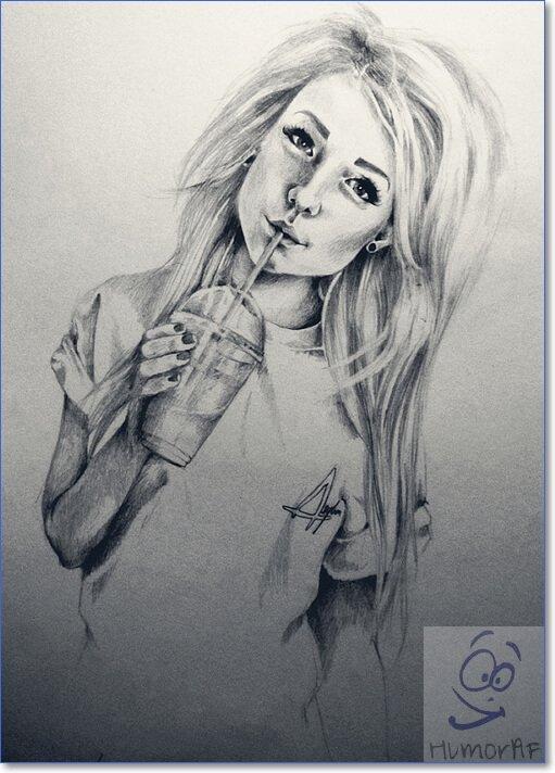 Картинки нарисованных людей