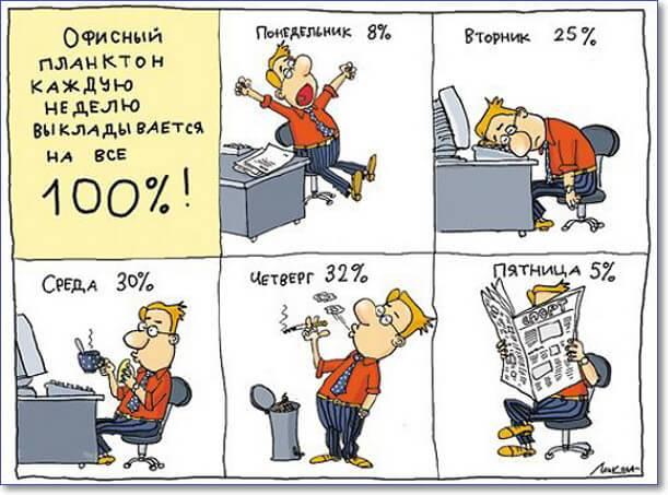 Смешные картинки о рабочем дне