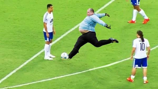 приколы про футбол