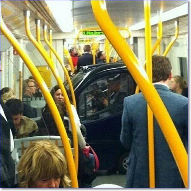 Фото приколы в транспорте