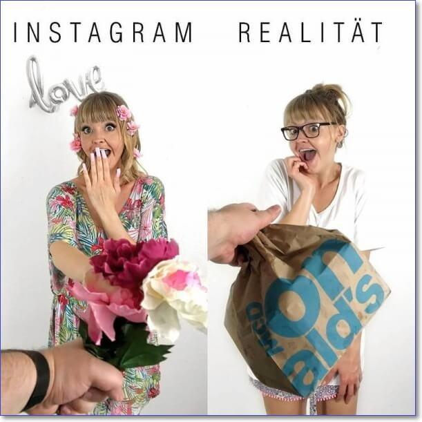 Инстаграм и реальность