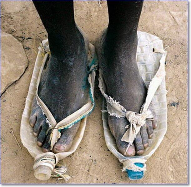Смешная женская обувь