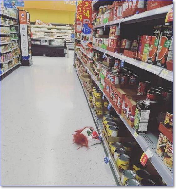 Чудаки и чудачества в Walmart