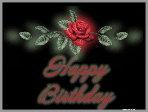 GIF открытки с днем рождения