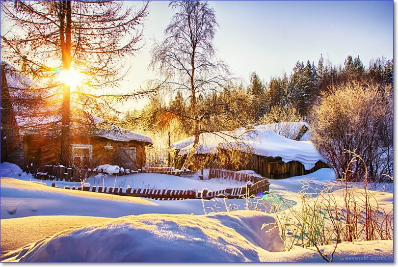 работы хорошее зимнее утро картинки красивые всему