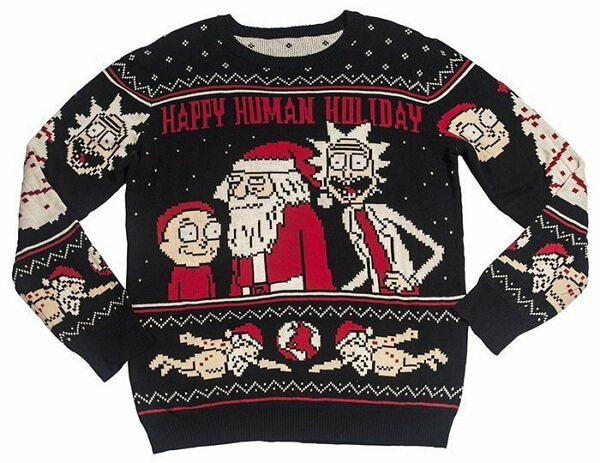 Новогодние свитеры с оленями и не только