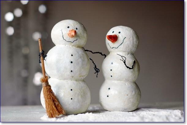 Прикольные снеговики своими руками фото