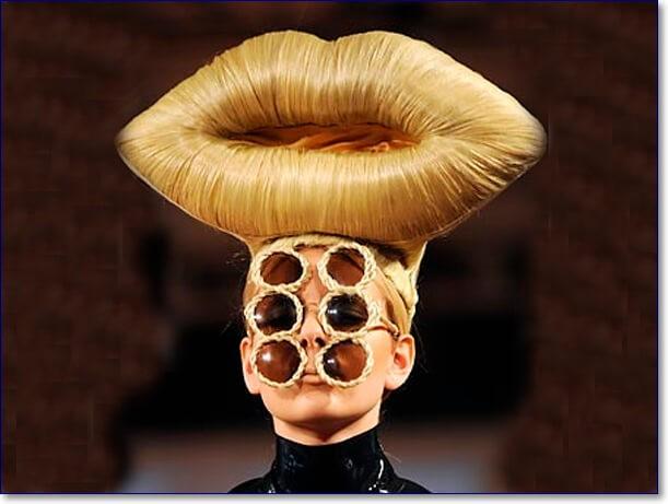 Смешные парики фото