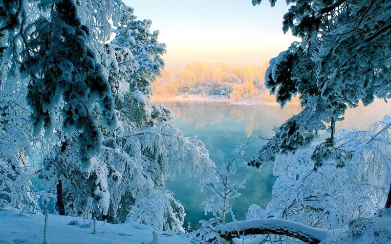 Красивые зимние картинки
