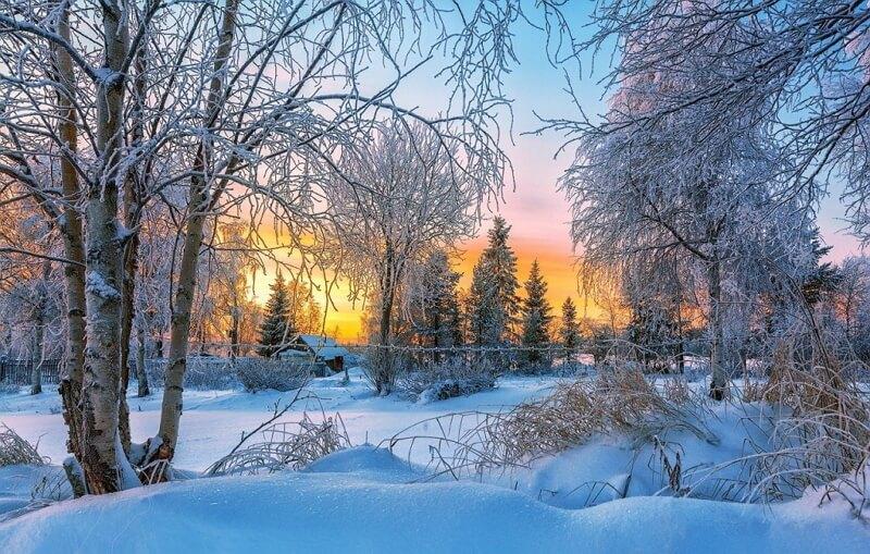 Картинка декабрь зима