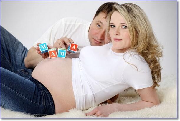 Прикольные фото беременной с мужем