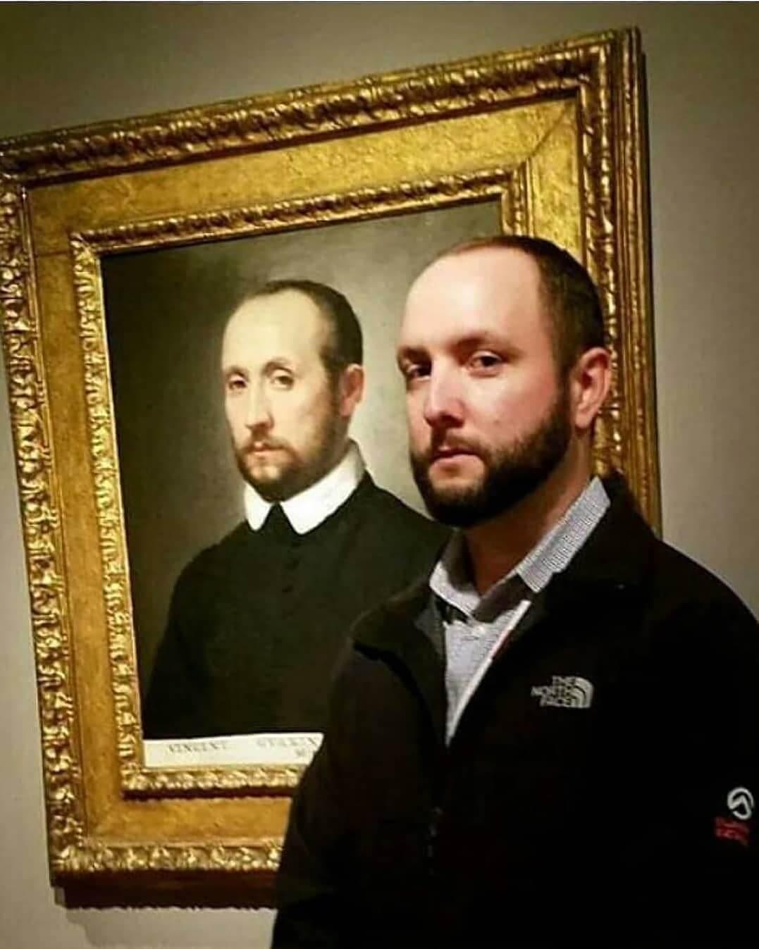 Реинкарнация персонажей известных картин