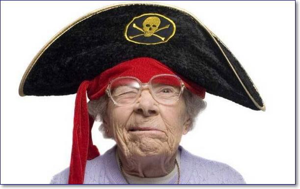Смешной пират фото