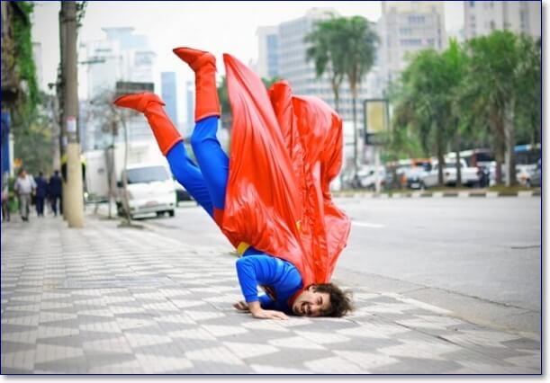 Смешной Супермен фото