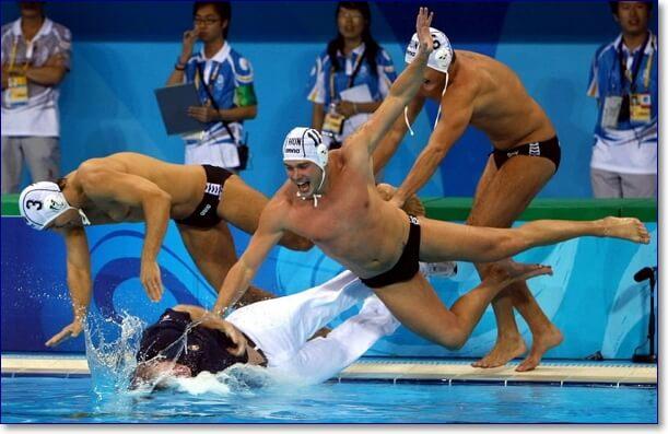 Смешные картинки про плавание