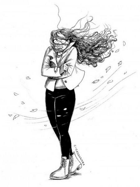 Жизненные комиксы от длинноволосой девушки