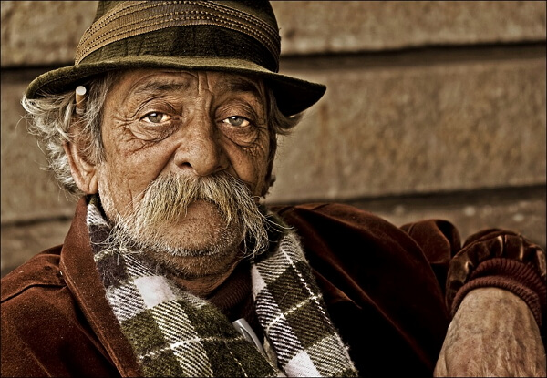 Прикольный дед фото
