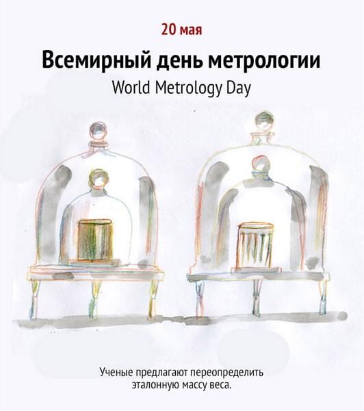 Поздравления, открытка метрологам