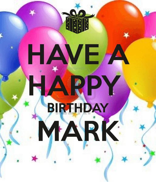 день рождения марка поздравления недорого
