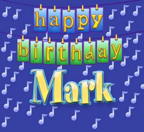 день рождения марка поздравления растет