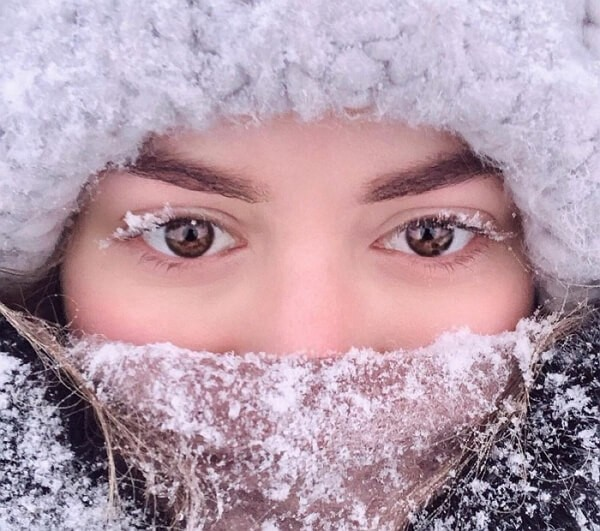 Смешные зимние картинки