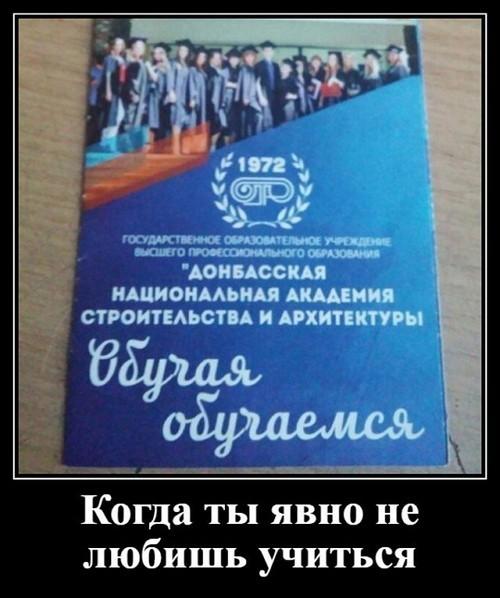 Демотиваторы за 29.02.2020
