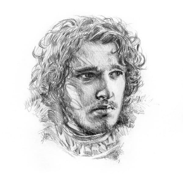 Рисунки для срисовки Игры престолов