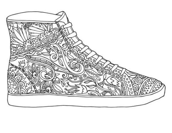 Рисунки для срисовки туфли