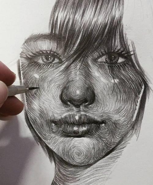 Рисунки карандашом для срисовки для мальчиков